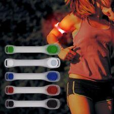 Flashing Safety LED Light Belt Strap Arm Band Armband For Night Running SS0772