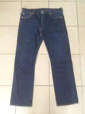 Levis 501    Button Fly   Denim Jeans    Blue    Size 36 ( ~38 )