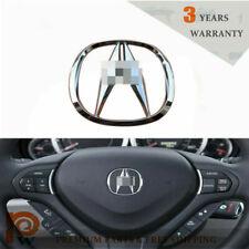 For Acura Steering Wheel Emblem TL TLX RL ILX MDX RDX CL CSX RSX ZDX TSX NSX