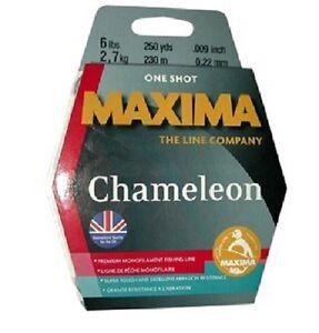 Maxima Chameleon Premium Monofilament Line