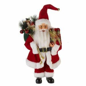 Christmas Large Santa Figure Free Standing Father Ornament Decoration 60cm Decor