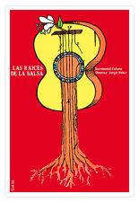 "Cuban movie Poster 4 film""SALSA Root""Music Trova.Guitar.Collectible Decor"