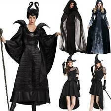 Women Christmas Scary Renaissance Dress Gothic Party Witch VickedCosplay Costume