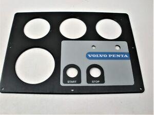 Volvo Penta 873810 Marine Boat Engine Motor Instrument Gauge Panel Trim Plate