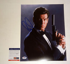 PIERCE BROSNAN JAMES BOND 007 SIGNED AUTOGRAPH 11X14 PHOTO PSA/DNA COA #X68300