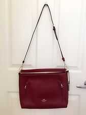Coach Shoulder Bag in Pebble Leather Cross Body