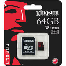 Kingston MicroSDXC Class 10 UHS-I U3 R/W:90/80MB/s SDCA3/64GB 64GB Memory Card