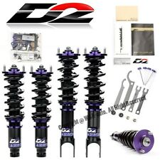 For 98-02 Subaru Forester D2 Racing RS Adjustable Suspension Coilovers