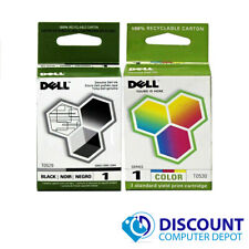 Genuine Dell Series 1 T0529 T0530 Ink Cartridge Dell 720 A920 Combo Pack