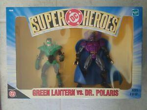 NEW HASBRO DC SUPER HEROES GREEN LANTERN VS DR POLARIS ACTION FIGURES! s40