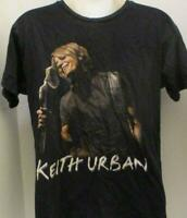 KEITH URBAN 2009 ESCAPE TOGETHER WORLD TOUR CONCERT GRAPHIC T-SHIRT MEDIUM