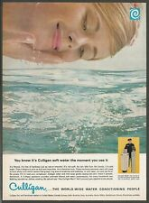 CULLIGAN Water Treatment - 1965 Vintage Print Ad