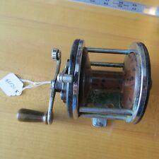 Vintage Penn 185 fishing reel Marbleized spool made in Usa (Lot#12159)