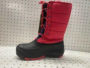Kamik Women's Snow Boots Dark Rose Black Size 7