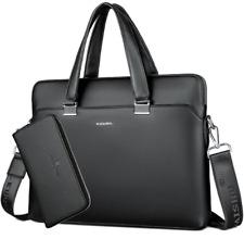 BERAGHINI Business Men Briefcase Bag Leather Shoulder Bags