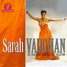 Sarah Vaughan - The Absolutely Essential 3CD Collection (2017)  NEW  SPEEDYPOST