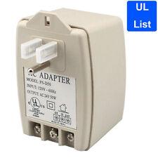 UL List  24V AC 50VA Power Supply Transformer/Adapter for CCTV Security Camera