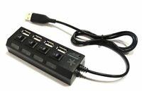4 Port USB-Hub Verteiler für den USB Anschluss mit Schalter Passiv