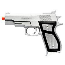 Airsoft Spring Pistol Handgun Tactical Silver Prop Gun Training 1:1 Scale M777S