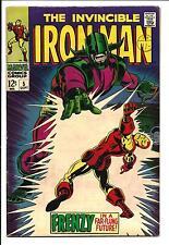 IRON MAN # 5 (SEPT 1968), VF-