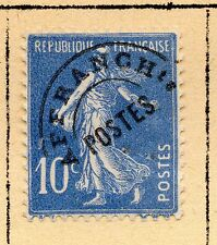 """FRANCE = 10c """"Sower"""" with Pre-Cancel. MH or Used (No Gum) Hinged to page. (a)"""