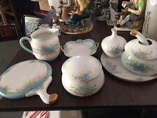 antique vanity set Glass
