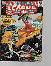 """Dc (1964) Justice League Of America #31 - """"The Human Fishbowl!"""" - 4.0 Vg"""