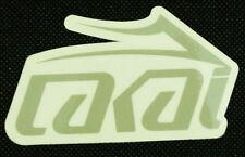 Lakai Skateboarding Footwear Gray Logo Promotional Sticker