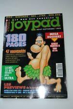 JOYPAD N° 11 MAGAZINE AOUT SEPTEMBRE 1992 NINTENDO SEGA CONSOLE