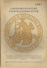 Landeskundliche Vierteljahresblätter Trier Heft 4 1988 Der Ortsname Spay am Rhei