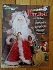 Needlecraft Shop Pere Noel, Tree Old World Santas Plastic Canvas Pattern Leaflet