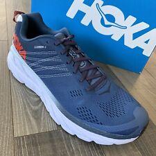 NIB Hoka Clifton 6 Running Shoes Men's Size 11.5 Ensign Blue/Air 1102872 EBPA