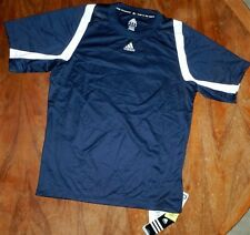Baseball Jersey Navy Adidas E76070 Team Men size Small New