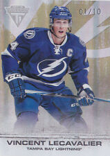 11-12 Titanium Vincent Lecavalier 1/10 GOLD Parallel Lightning 2011