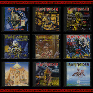 Iron Maiden (rarità) - CD usati (The Number Of The Beast, Killers, Powerslave..)