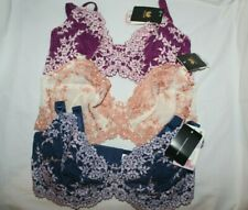 NWT~Wacoal bra~#65191~EMBRACE LACE~Unlined~t shirt~underwire soft cup~PRETTY!