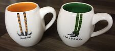 New Rae Dunn Halloween Mugs Witch Legs Bewitching I Put A Spell On You