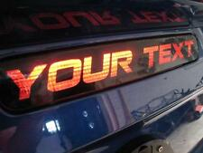 2005-2009 Mustang 3rd Brake Light Vinyl Decal Overlay - Your Text - Perfect Fit!