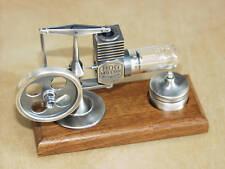 >Altsilber< HOG Stirling Heißluftmotor Modell_Dampfmaschine Motor HOG >NEU<