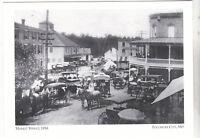 "*Maryland Postcard-""Market Street"", 1916- *Pocomoke City (3-MD)"
