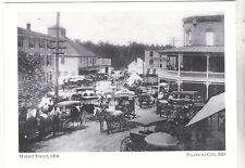 "*Postcard-""Market Street"", 1916-   CLASSIC  *Pocomoke City, MD (#146)"