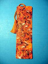 """Honey Bees""  Print on a Tassel Bookmark (goldenrod tassel) Sku# 322"