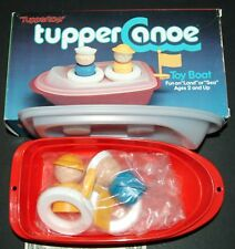 TUPPERTOYS TupperCanoe Toy Boat NEW IN BOX 1985 dated