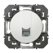 Prise blindée RJ45 catégorie6 FTP dooxie finition blanc téléphone LEGRAND 600376