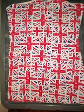 La Senza Union Jack  Bustier Top UK Size 12