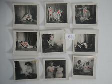 9 photos ancienne de nus feminins  artistique lot N°4
