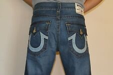 NWT True Religion Men's Jeans Straight Two Tone 34x34 Style M2F859NN3