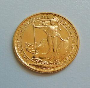 53128696 - Goldmünze Britannia 25 Pounds 1987 1/4 oz. GOLD
