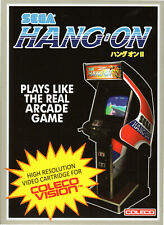 HANG ON for Colecovision / ADAM Cartridge  NEW / CIB, NO SGM needed