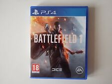 Battlefield 1 for PS4 in MINT Condition